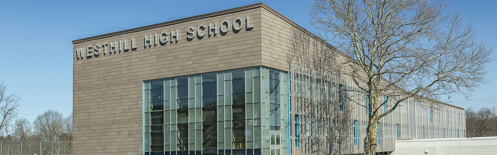 MCK Building Associates Westhill High School exterior