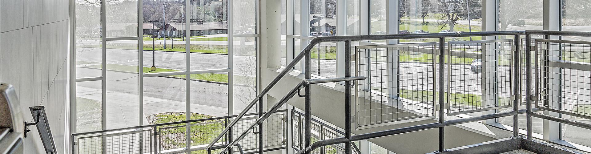 MCK Building Associates Westhill CSD Stairway