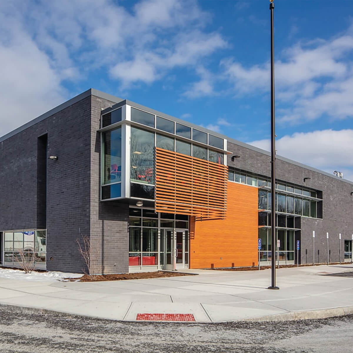 Baldwinsville Bus Garage Completed Project by MCK Builders